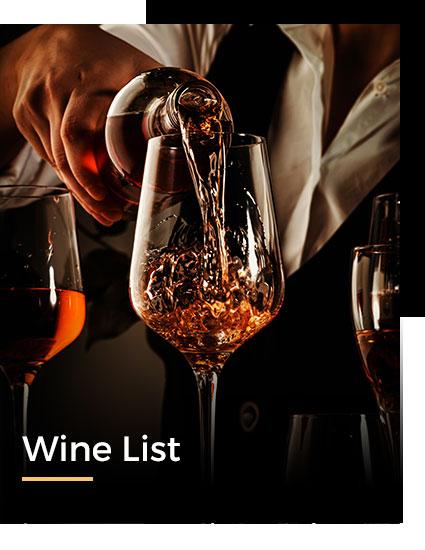Locale Wine List